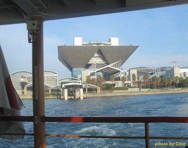 お台場ー日の出桟橋水上ボート.JPG