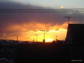 赤い夕日と富士.jpg